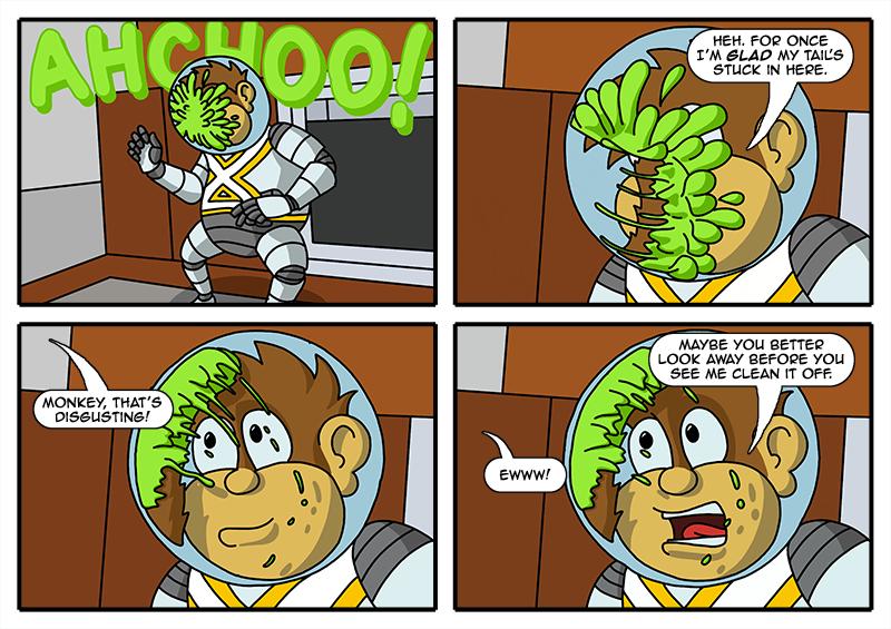 0054 – Monkey Scuse Me
